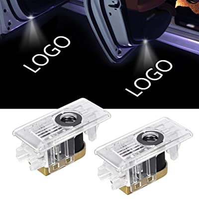 LED Car Door Logo Lights Projector for BMW 3 Series 2020 2020 Courtesy LED Laser Welcome Lamps Ghost Shadow Light for BMW G20 G28 Emblem Accessories 2 pack: Automotive