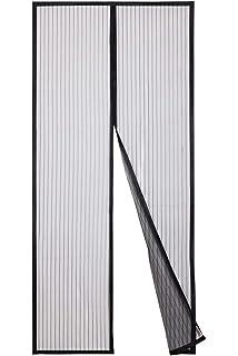 Hiveseen Cortina Mosquitera Magnética para Puertas, 120x220cm, Anti Insectos Moscas y Mosquitos, con 18 Imanes Cierre Automático, para Puertas Correderas/Balcones/Terraza: Amazon.es: Bricolaje y herramientas