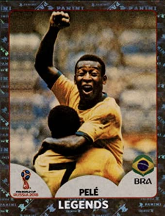 Panini Pelé Brasilia FIFA World Cup Russia 2018 Legends  # 680