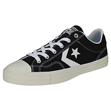 2da3d98f3f23f Amazon.com: Converse Men's Star Player Ox Canvas Trainers, Black: Shoes