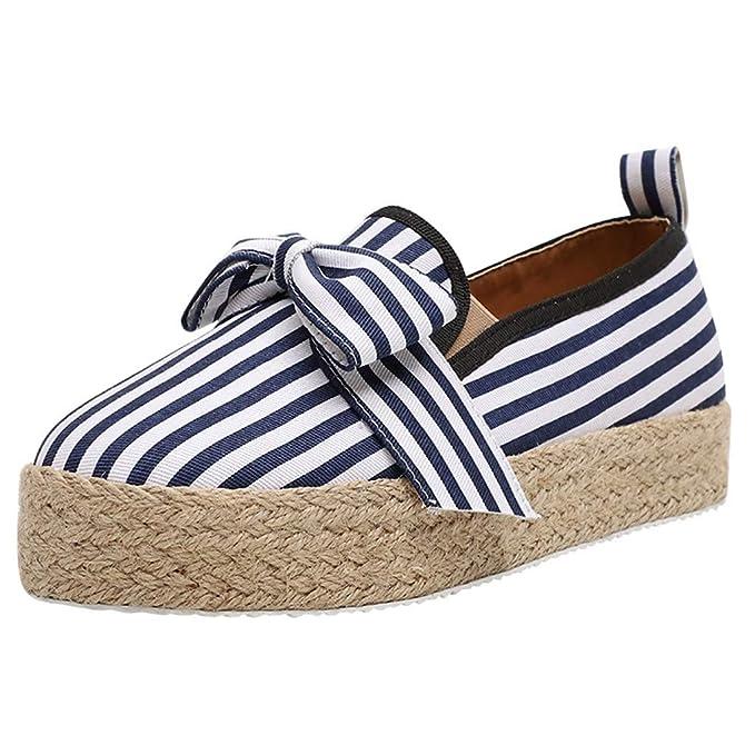 39a2fbf690308 Amazon.com: Women Fashion Sneaker Slip On Loafers Casual Flat ...
