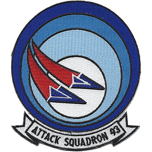 VA-93 Attack Squadron Patch