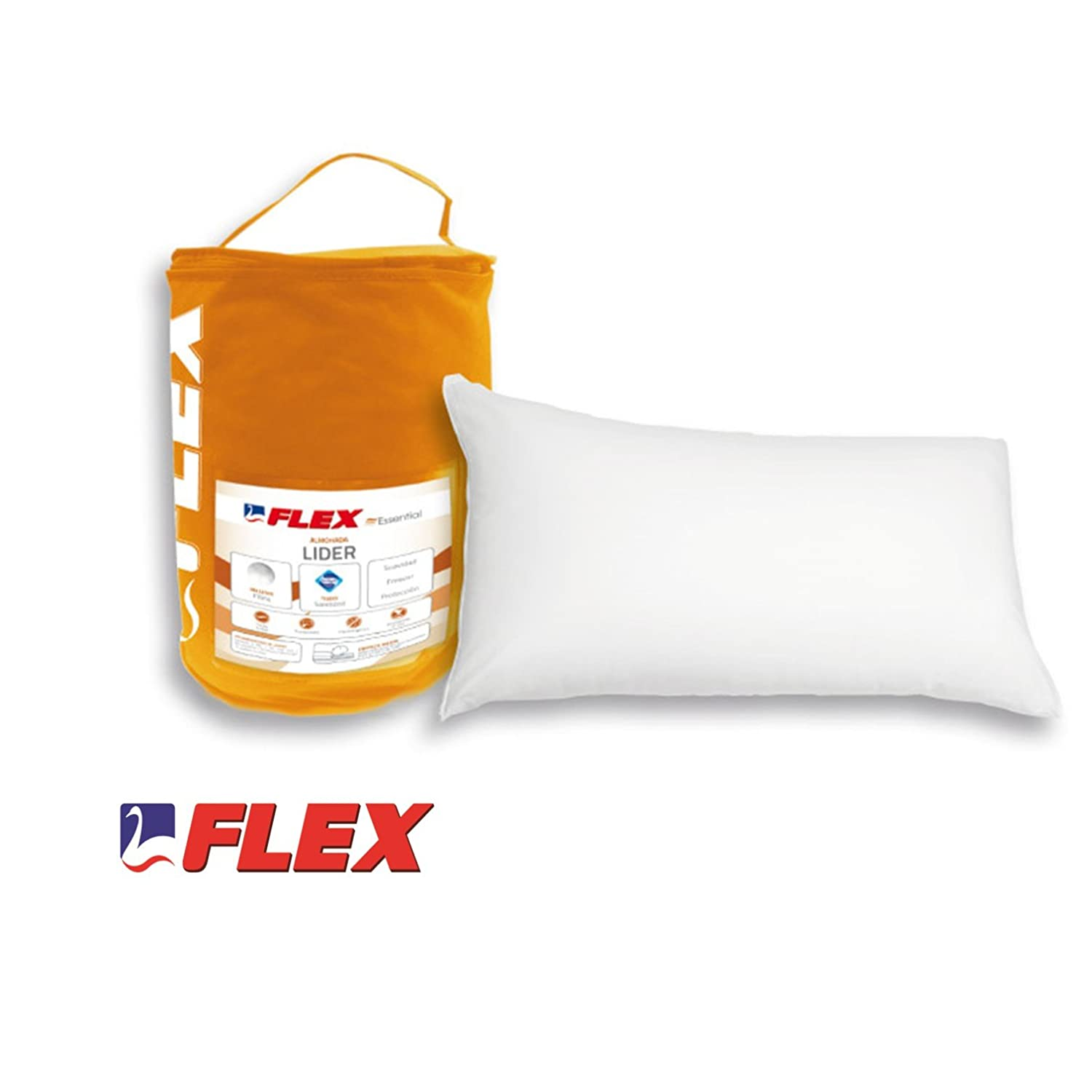 almohada flex visco silver carrefour