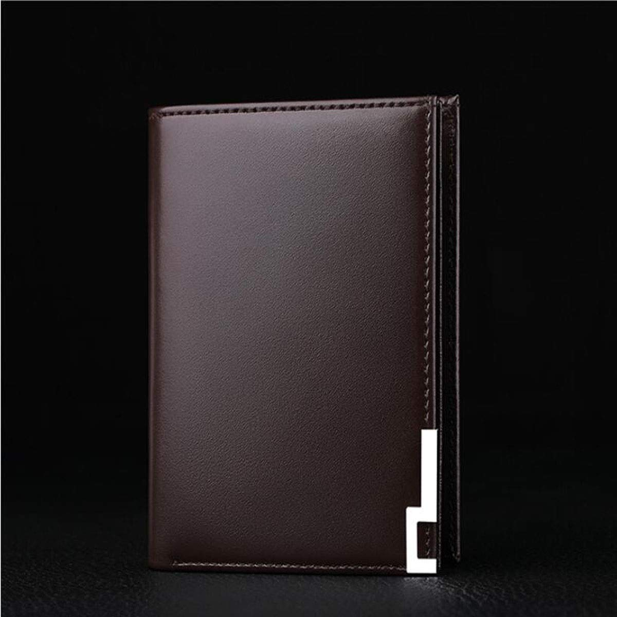 Black Suitable for Mens Short cm Stealth Mode Blocking Leather Wallet Stylish Casual Multi-Functional Youth Leather Wallet Size Kalmar RFID Travel Wallet Color 11.8 1.5 9.5
