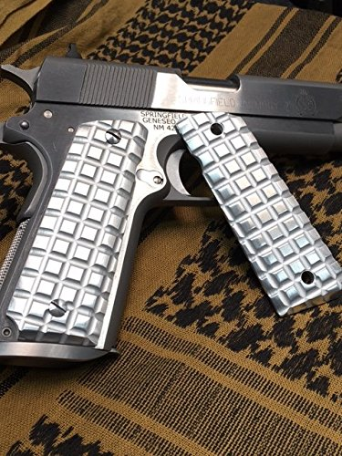 1911 Government/Commander Full Size Grips Aluminum
