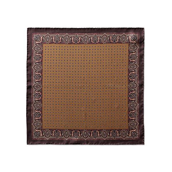 Italian-Silk-Mens-Pocket-Square-Firenze-Series-165-Inches