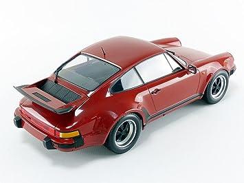 Minichamps Miniatura de Coche Porsche 911 Turbo 1977 (Escala 1/12, 125066106, Rojo Peru: Amazon.es: Juguetes y juegos