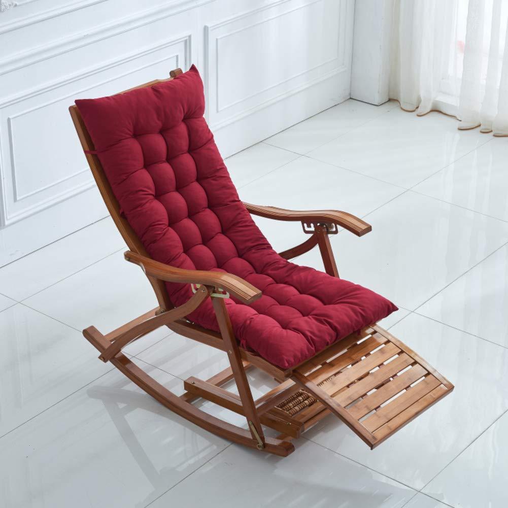 Amazon Com Cnzxco Thicken Rocking Chair Seat Pad Indoor Seat