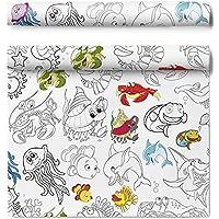 HarFri - Mantel Lavable para Colorear