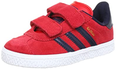 bcee822781ba adidas Originals Gazelle 2 CF I Q22892 Unisex Baby Shoes for Learning to  Walk Red Size