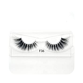 bf860453d0a 1pair 10 styles 3D Mink lashes Plastic Black Terrier Natural Long Thick  false eyelashes Hand Made