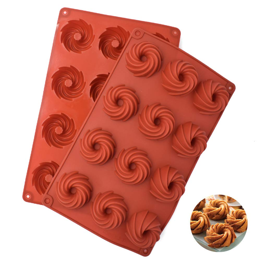 12 cavidades molde para jab/ón molde de silicona antiadherente molde para tartas Moldes de silicona para hornear pasteles de silicona bandeja para jab/ón hecha a mano