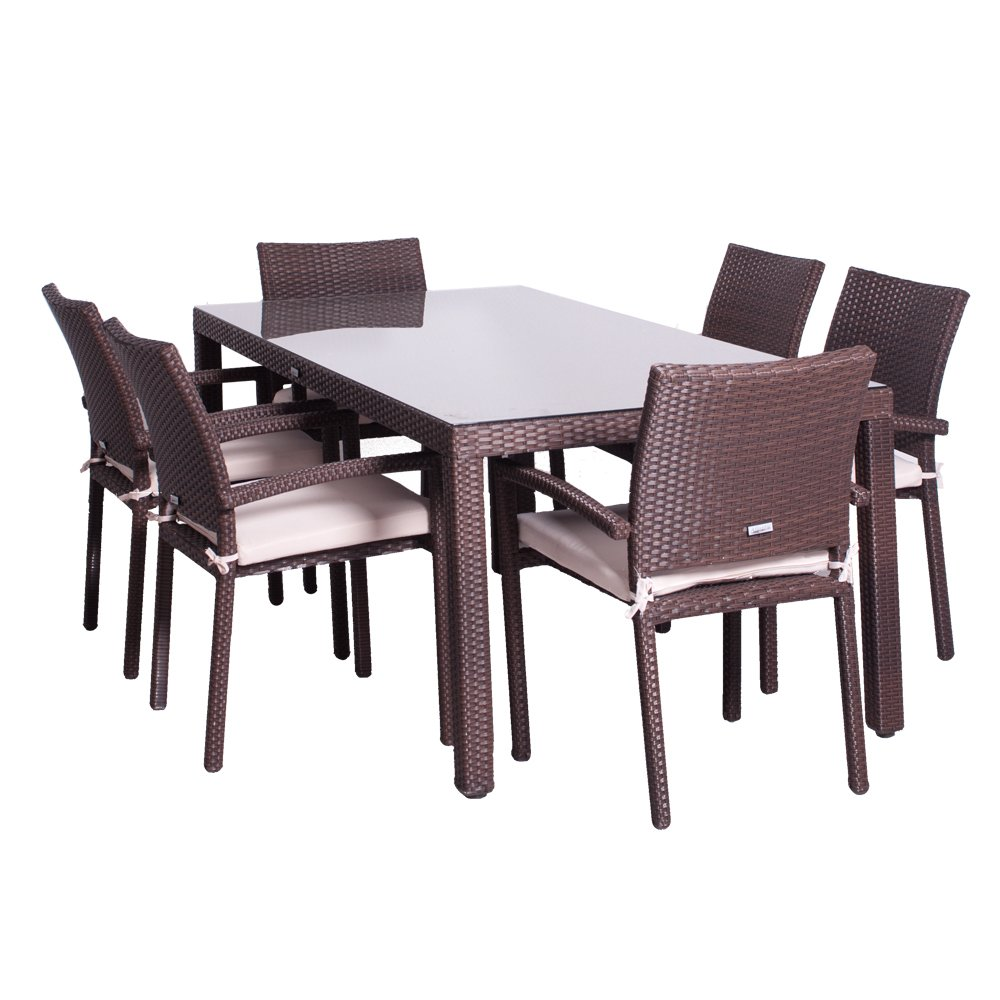 Atlantic Liberty 7-Piece Dining Set