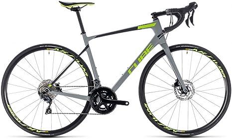Cube Bicicleta de Carretera Attain GTC Race Disc Grey n Green ...