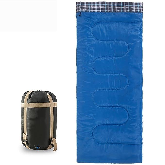 Dormir de acampada Acampada y senderismo MIAO Bolsa de dormir?Al aire libre camping ultra-ligero de algodón de algodón primavera y verano saco de dormir