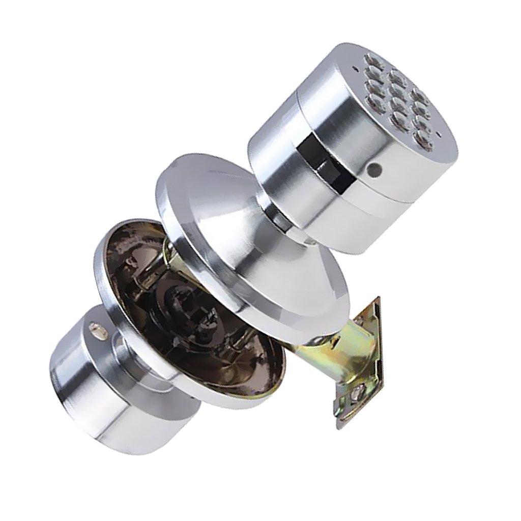 MonkeyJack Heavy Duty Door Knob Handle Passageway-lock Home Safety Code Digital Electronic Locker