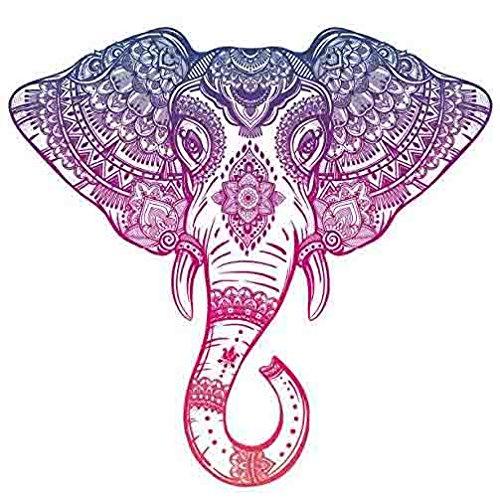 elephant car decal - 1