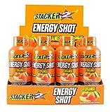 Stacker 2 Energy Shots, Orange Flavor 12pk (1)