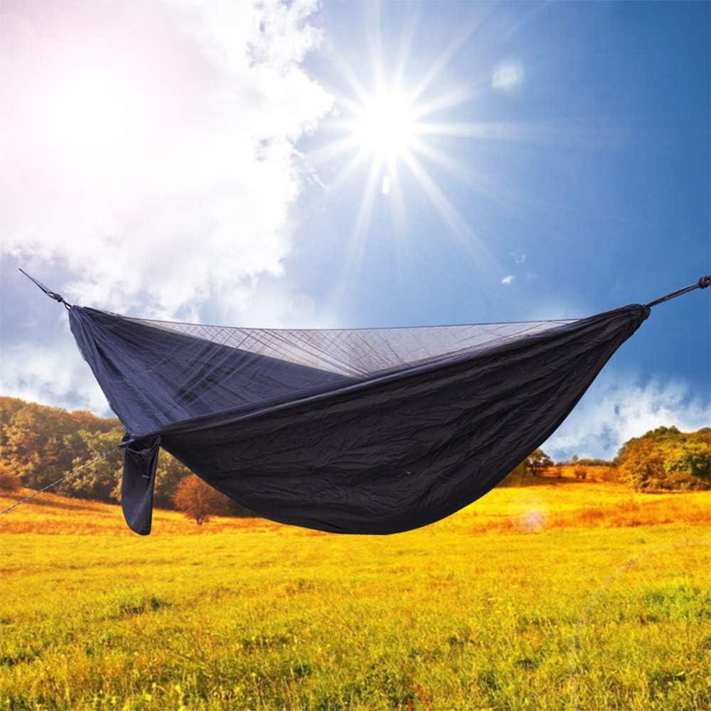 Black//Army Green//Dark Green//Khaki Galapara Hammock Rain Fly Tent Tarp 360cm x 290cm Camping Tree Hammock Anti UV Waterproof Lightweight Sun Shade Sail Canopy for Hiking Patio Garden Backyard
