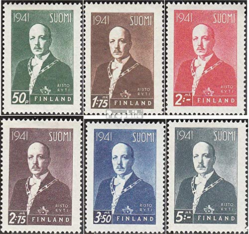 Finland 242X-247X (Complete.Issue.) 1941 Freedom Fight Finland (Stamps for Collectors)
