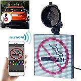 Luixxuer LED Display Screen Controlled Emoji, Car