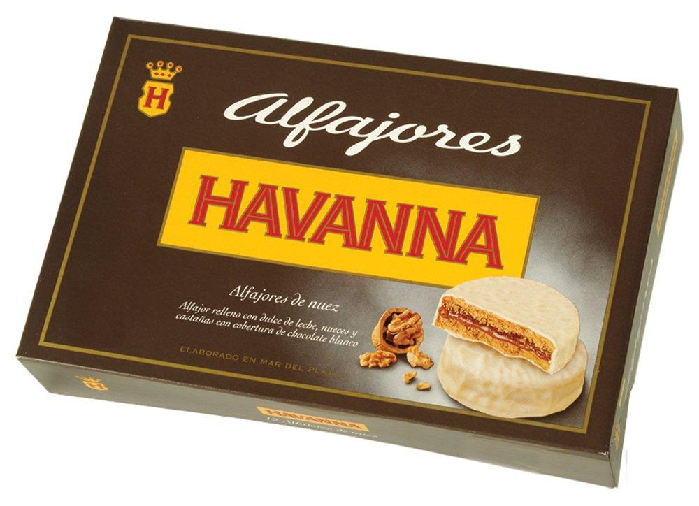 Amazon.com: Havanna Argentina Alfajores Walnuts with White Chocolate Cookie, 11.64 Ounce