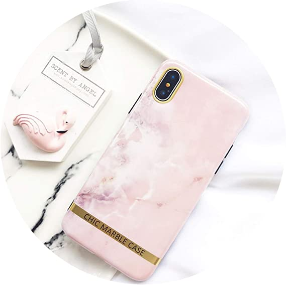 XS Max Chic Pink Cover For iPhone 7 8