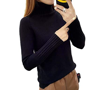 Cyose Fashion Turtleneck Thick Sweater Women Sueter Invierno Loose Chaqueta Jumper Plus Size Sweters Women Invierno