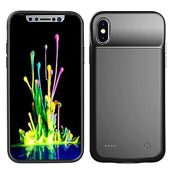 Runbiu Funda Batería para iPhone X iPhone XS 3200mAh ...