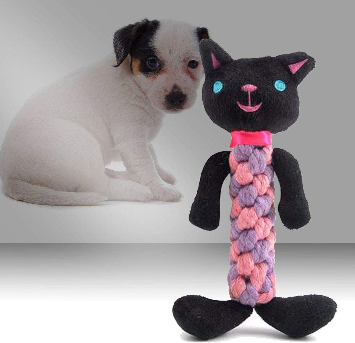 WOVELOT Animali Domestici Carina Gatto Animal Shape Peluche Morbido Suono Animale Domestico Giocattolo Giocattoli dentali dentali