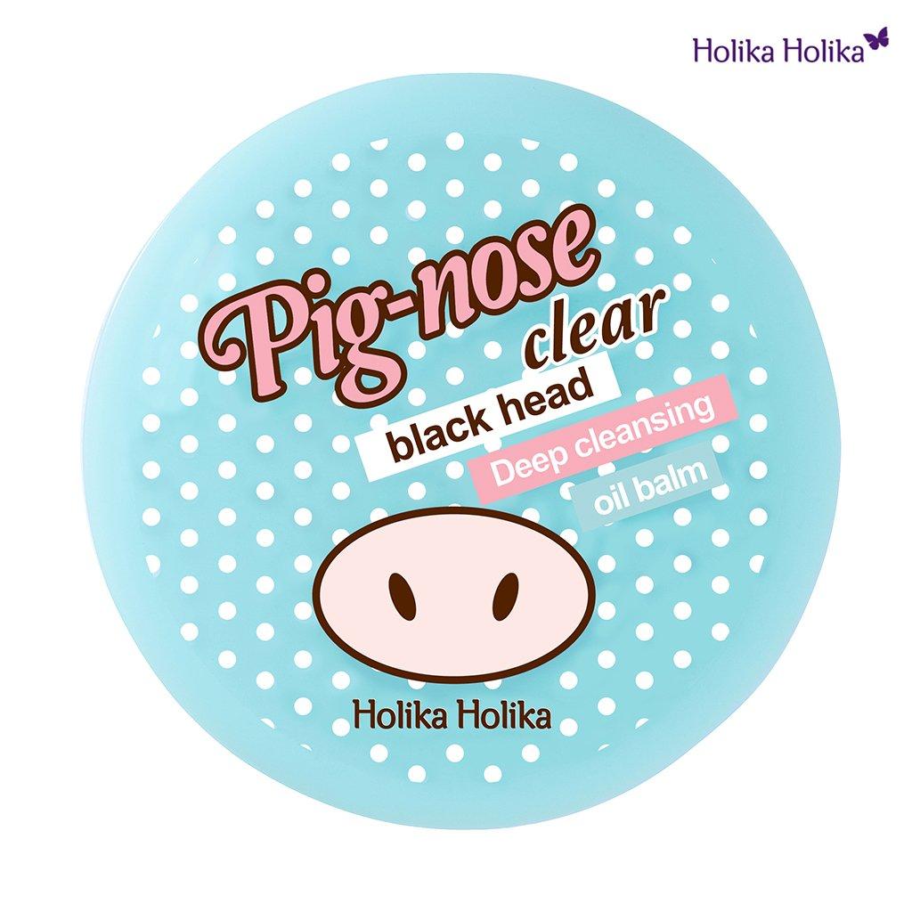 Holika Holika–Pig Nose–Cleansing Balm–Crema anti mitesser–pulizia pori per uomini e donne