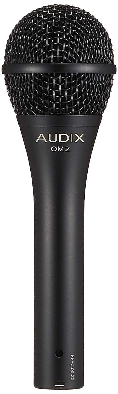 Audix OM2 - Micrófono dinámico (para voz), color negro - Audix: Micrófono dinámico OM 2: Amazon.es: Instrumentos musicales