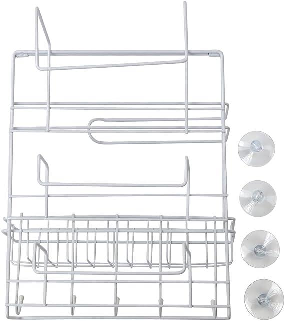Yontree estanter/ía de condimentos Rack Soporte de Especias con 3 Capas Color Plateado