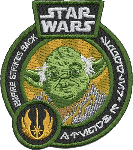 [Star Wars Smugglers Bounty Exclusive Embroidered Yoda The Empire Strikes Back Patch] (Bounty Hunter Costume Accessories)