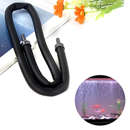 HMOCNV - Tubo de burbujas de aire para acuario con revestimiento de ...