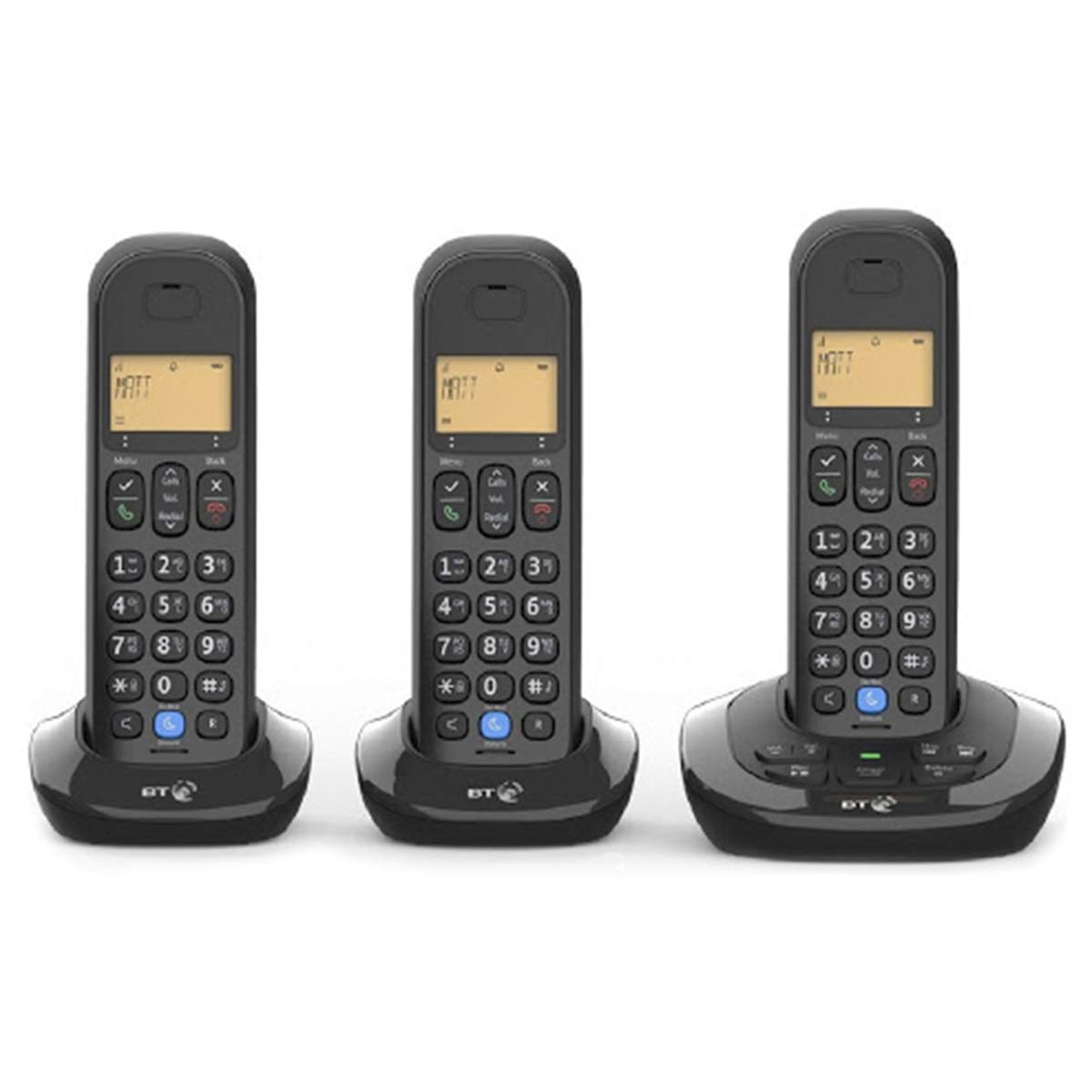 Certified Refurbished BT 3880 Trio Digital Cordless Answerphone with Nuisance Call Blocker