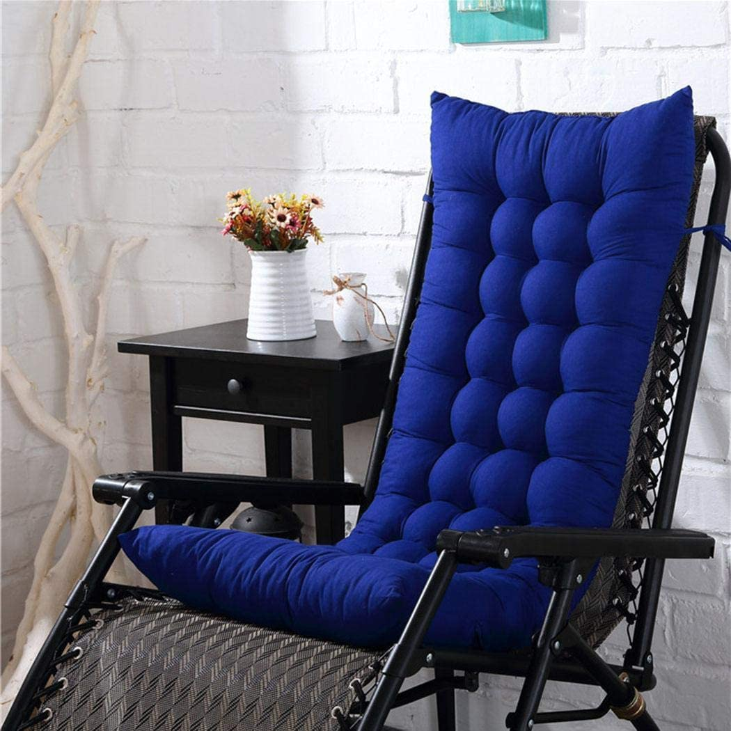 Zronji Lounge Chair Cushion Thickening All-Seasons Use Seat Cushion Cushions