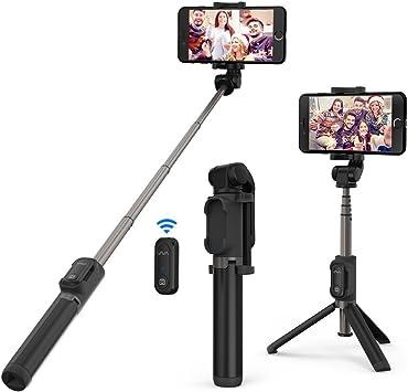VAVA Palo Selfie Trípode con Control Remoto Mini Selfie Stick con ...