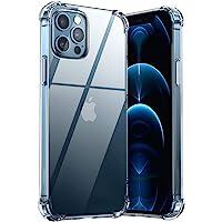 """UGREEN Funda para iPhone 12 y iPhone 12 Pro de 6.1"""" Case, Transparente Carcasa de TPU con Protección de Absorción de…"""
