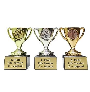 3er Serie Pokale  Fußballpokal