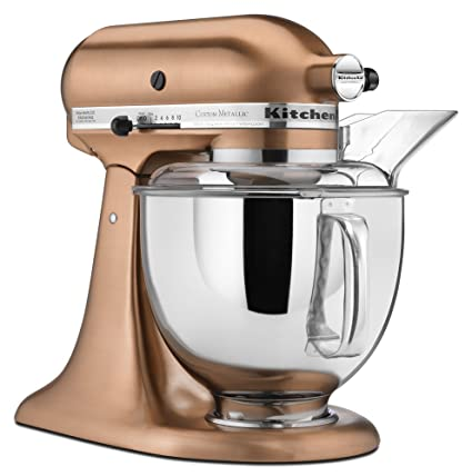 Amazon Com Kitchenaid Ksm152pscp 5 Qt Custom Metallic Series With