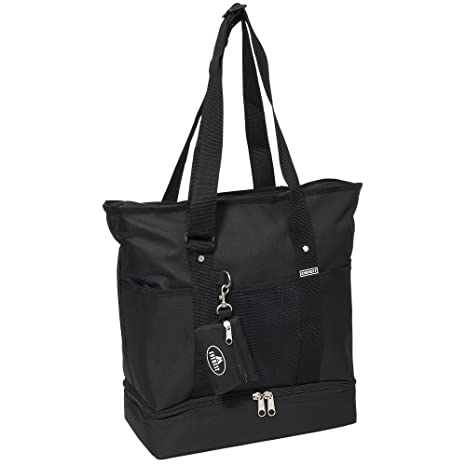 Amazon.com  Everest Luggage Deluxe Shopping Tote a771c01a15aa6