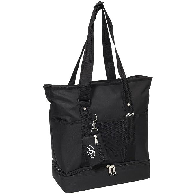45969e82bf24 Amazon.com  Everest Luggage Deluxe Shopping Tote