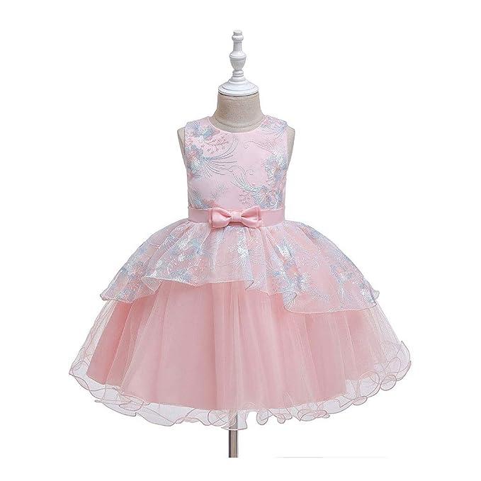 Amazon.com: TZCC Vestido de princesa con falda bordada para ...