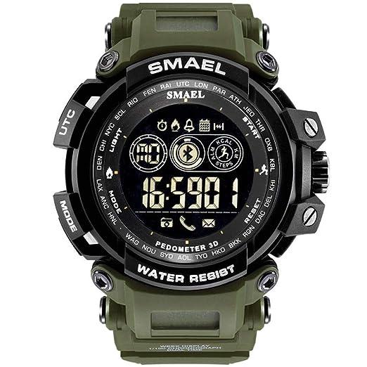 Reloj Smart Watch Impermeable con Bluetooth Sport para teléfono con Android iOS Amor Unisex multifunción Integral Bonitos Relojes Elegantes Wrist Watches: ...