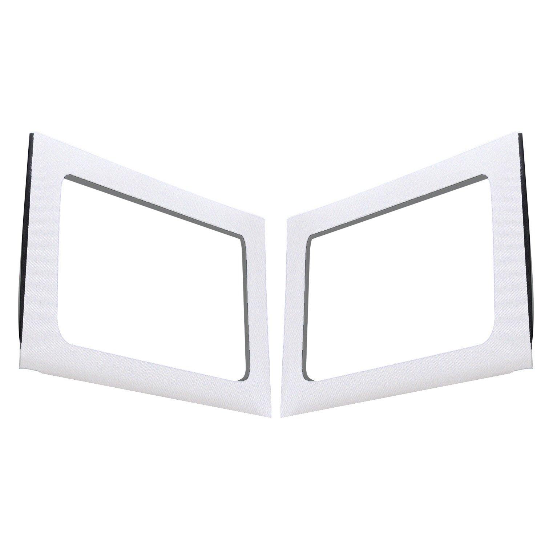 White DEI BMa-:050151 2011-2018 Design Engineering 050151 Boom Mat Sound Deadening Side Window Trim Kit for 4-Door Jeep Wrangler JK