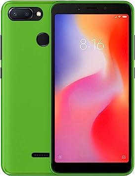 TBOC® Funda de Gel TPU Verde para Xiaomi Redmi 6: Amazon.es ...