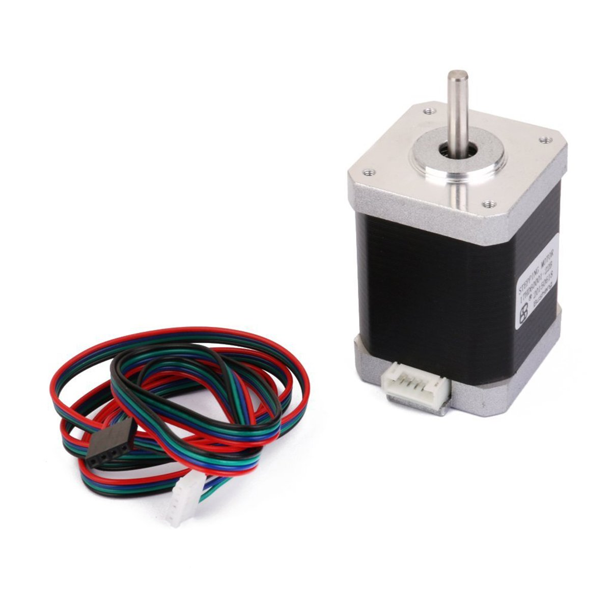 Amazon.com: UEETEK Nema 17 2 Phase 4-Wire 1.5A 60mm 1.8° Stepper Motor for  3D Printer: Industrial & Scientific