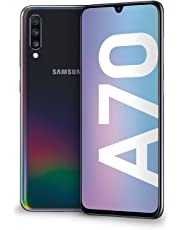 "Samsung Galaxy A70 Display 6.7"", 128 GB Espandibili, RAM 6 GB, Batteria 4500 mAh, 4G, Dual SIM Smartphone, Android 9 Pie, (2019) [Versione Italiana], Black"