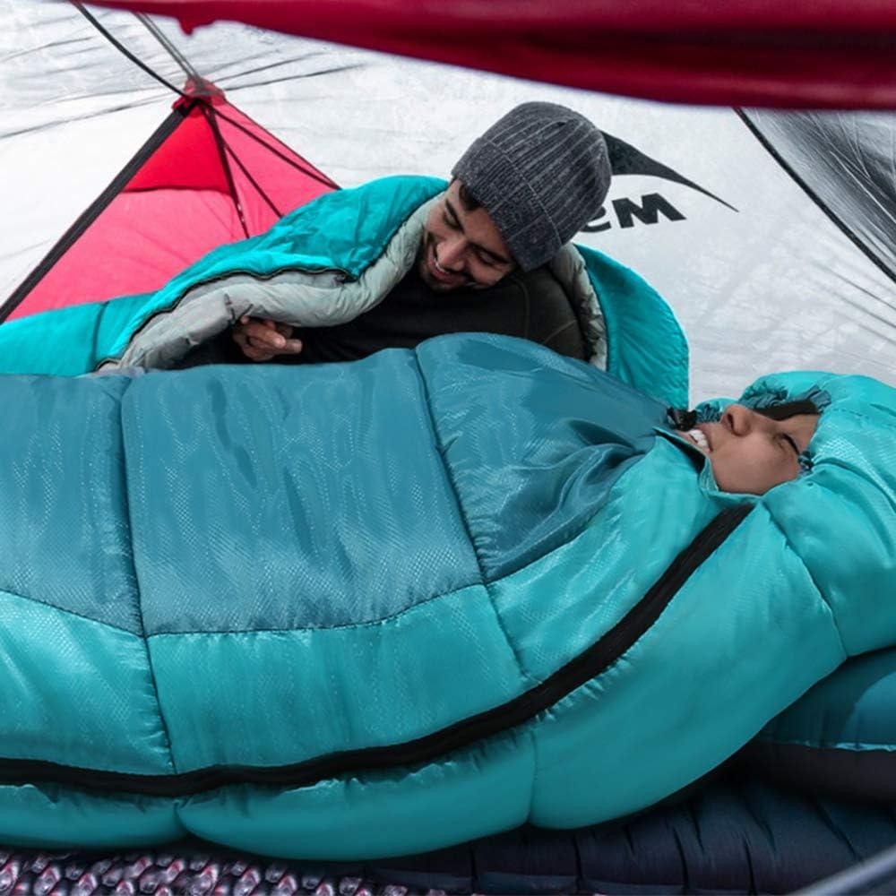 Temp/érature Extr/ême Duvet Adulte Ultra-L/éger et Ultra-Compact 10 Degr/é Sac Couchage Sarcophage Grand Froid pour 3-4 Saison Camping Outdoor Bessport Sac de Couchage Duvet